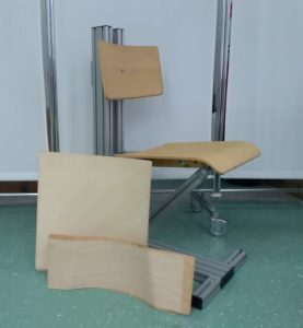 "Examples from Nastja Podrekar's research project ""Ergonomic, adjustable and active office furniture""."
